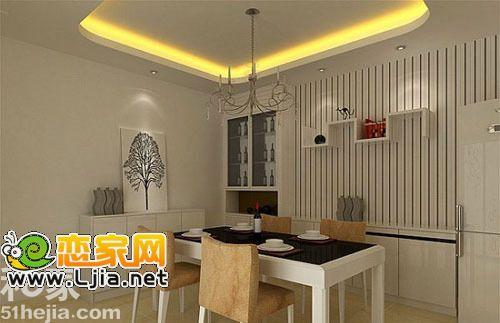 别致清新小典雅5个餐厅背景墙管理地产设计设计岗压力大图片