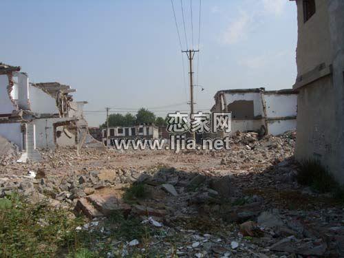 金世纪花园拆迁现场(2009.07.04)