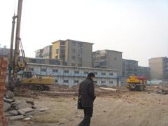 卓昱大厦工地现场(2010.1.3)