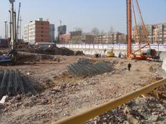 卓昱大厦工地现场(2010.1.17)