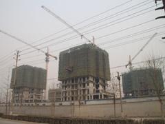 赵都新城工地图(2011.1.20)