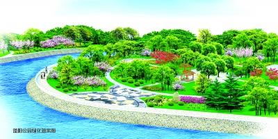 """其中,一期景观设计项目""""滏河新流""""纵穿中心城区,承接上游""""滏河古风""""图片"""