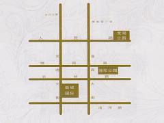 新城国际区位图