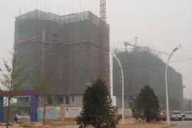 华信山水文苑二期施工现场(2011.6.17)