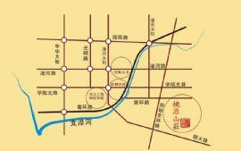 桃源山莊交通圖