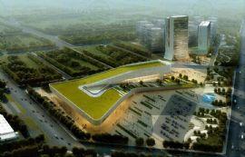 現代國際汽貿城會展鳥瞰