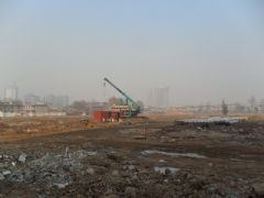 龙湖公馆施工现场(2011.12.12)