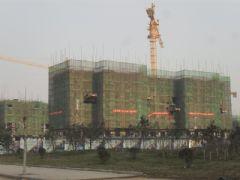 赵都新城4号地实拍(2011.12.15)