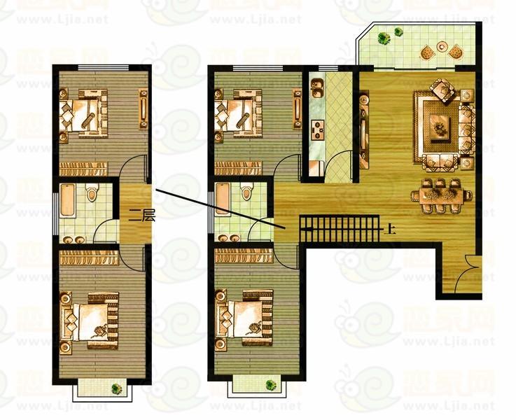 新城国际3号楼 A1户型
