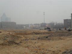 龙湖公馆施工现场(2012.1.7)