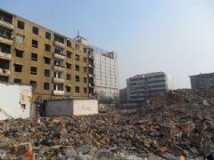 中和商厦拆迁现场(2012.02.01)