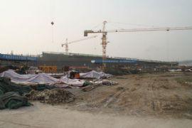 現代國際汽貿城工程進度(2012.2.2)