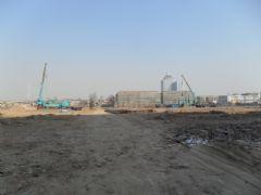 龙湖公馆施工现场(2012.2.7)