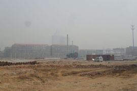 龙湖公馆施工现场(2012.03.28)