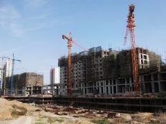 金世纪花园工程进度(2012.05.04)