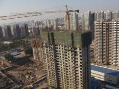 圣水湖畔施工进展(2012.11.01)