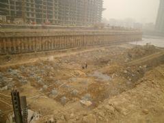 金世纪花园工程进度(2013.01.12)