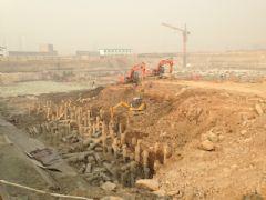 枫景华庭工程进度(2013.01.12)