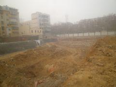 中和商厦工程进度(2013.1.12)