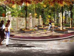 枫景华庭树阵休息广场