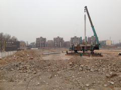 站南旺角工地实景(2013.03.12)