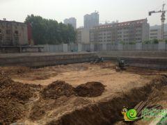 君合大廈北區正在挖槽(2013.05.04)