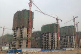 枫景华庭工地实景(2013.10.03)
