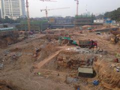邯鄲金融大廈工地實景(2013.10.08)