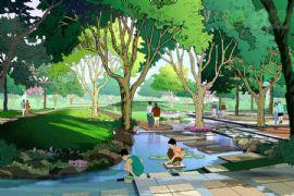 金世纪花园景观意向