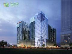 國際金融中心東北向人視圖
