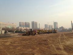 阳光新卓广场工地实景(2014.1.2)