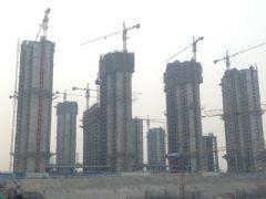 枫景华庭工地实景(2013.3.5)