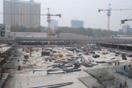 龙湖公馆工程进度(2013.5.6)