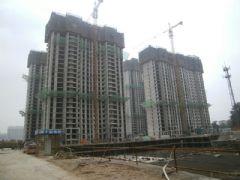 圣水湖畔6#、7#工程进度(2013.05.27)