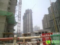 汉成华都5#工程进度(2013.6.9)