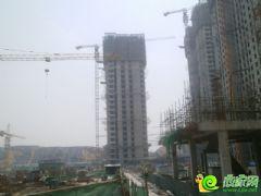 汉成华都19#工程进度(2013.6.9)