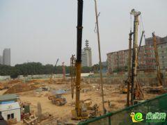 邯鄲金融大廈工地實景(2013.07.02)
