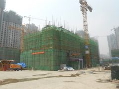 汉成华都15#工程进度(2013.08.06)