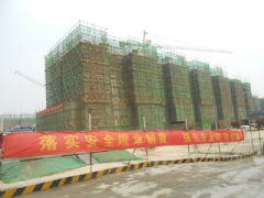 汉成华都17#工程进度(2013.08.06)