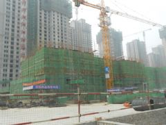 汉成华都18#工程进度(2013.08.06)