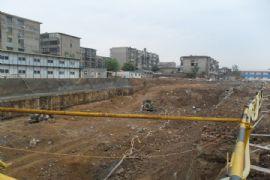 卓昱大厦施工现场(2011.6.25)