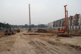 百家新城一期施工现场(2011.6.27)