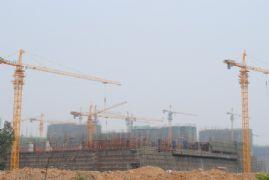 赵都新城工地图(2011.6.30)