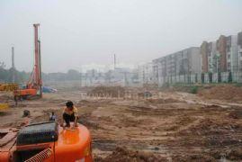 百家新城一期施工现场(2011.7.22)