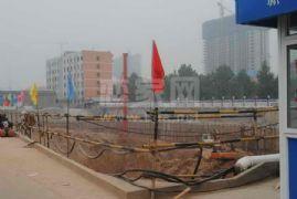 卓昱大厦施工现场(2011.7.22)