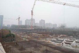 金世纪花园施工现场(2011.08.12)