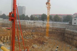 卓昱大厦施工现场(2011.08.20)