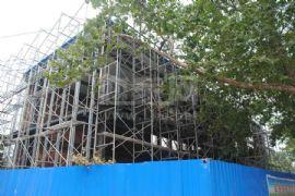 龙鼎国际建设中的咨询中心(2011.08.30)