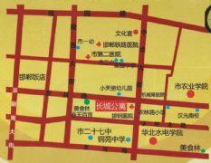 长城公寓区位图