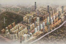 百家新城鸟瞰图